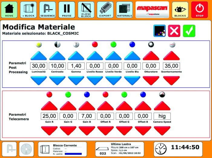 Mapascan's interface