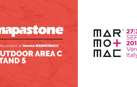 Mapascan @ MarmoMacc – Verona 2017